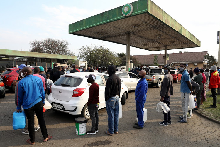 Buying Fuel In Containers