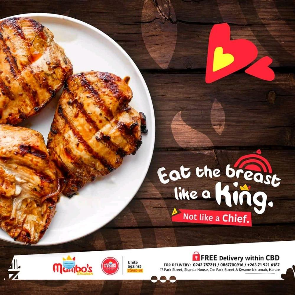 """""""Eat The Breast Like A King""""- Mambos Chicken Strikes Again"""