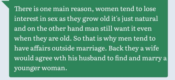 Why We Have Girlfriends, Smallhouses: Zimbabwe Married Men Speak Candidly