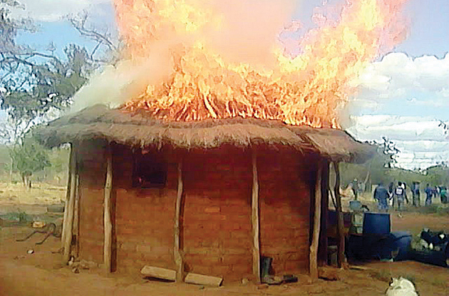 Tragedy As Drunk Couple Burns To Death