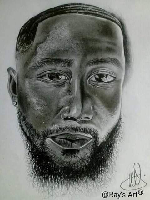 Cassper Nyovest Reacts After He Stumbles Upon His Painting On Social Media-iHarare