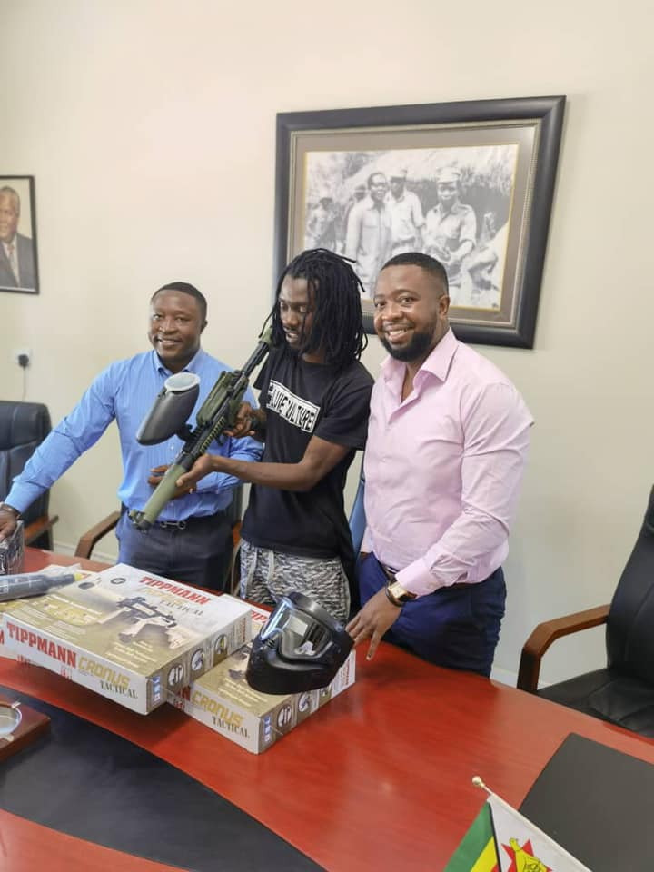 Enzo Ishall Set To Open Paintball Park After Presiden Mnangagwa's Sons Reaches Out To Him