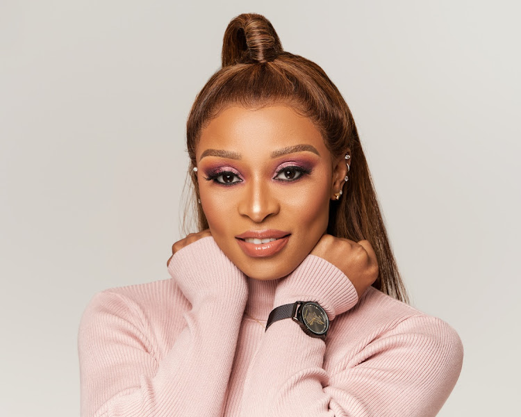 DJ Zinhle, Murdah Celebrates As Baby Asante Is Now 1 Month Old