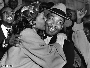 MLK JR. and wife Coretta