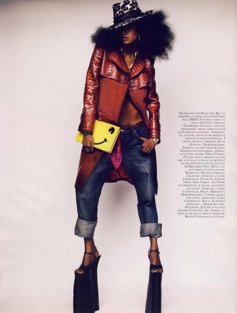 french vogue 72886 afro07 123 917lo Afrodisiaque Vogue Paris Oct.08