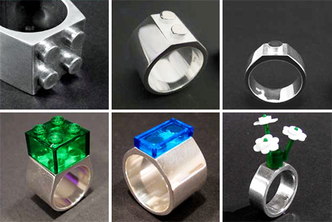 lego rings jewelry