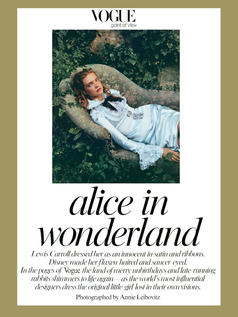 alice in wonderland by annie leibovitz 768x1024 Alice In Wonderland by Annie Leibovitz