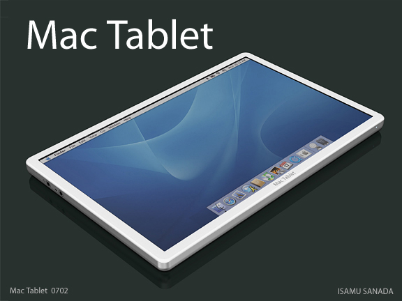 apple table ipad itablet macbook touch Apple Tablet Concept