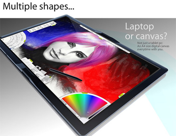 apple table ipad itablet macbook touch4 Apple Tablet Concept