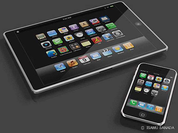 apple table ipad itablet macbook touch9 Apple Tablet Concept