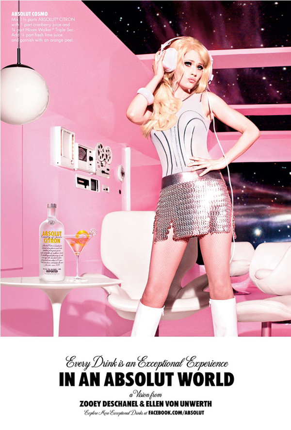 ellen von unwerth for absolut vodka Ellen von Unwerth for Absolut Vodka