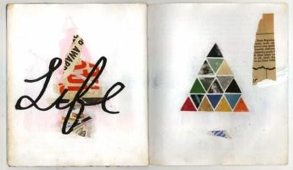 sketchbook collages 4 600x348 Creative Sketchbook Collages