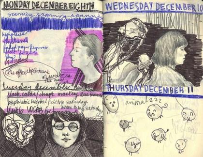 sketchbook collages 9 Creative Sketchbook Collages