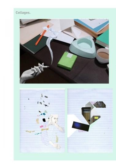 alexandra verschueren lookbook inspiration collages 1 600x849 Art School Confidential : Alexandra Verschueren