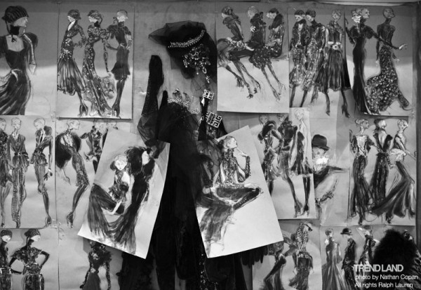 ralph lauren backstage nyfw10 1 600x413 From The First Sketches to the Runway: Exclusive Ralph Lauren Backstage