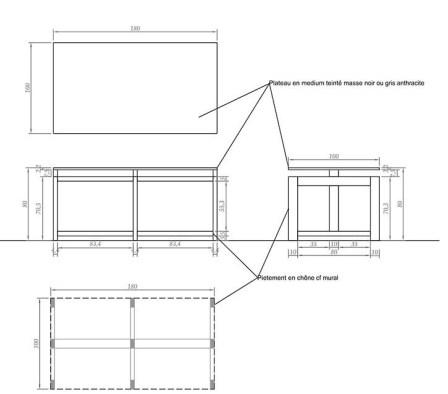 Table pour plié 3