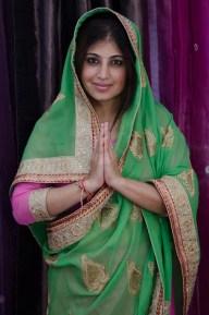 New traditional dress - Sari.