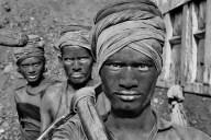 Coal miners, Dhanbad, Bihar State, India, 1989