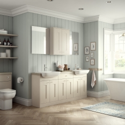 Image by Cyan Studios - Symphony - Valencia Ivory Light Airy Bathroom