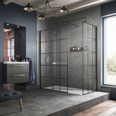 Image by Cyan Studios - Hudson Reed - Black Frame Wetroom