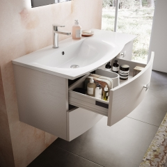 Image by Cyan Studios - Hudson Reed - Sarenna Bathroom Sink Pink Wall