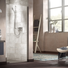 Image by Cyan Studios - Matki - Alcove Pivot Shower Modern Studio Bathroom