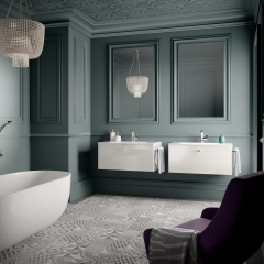 Image by Cyan Studios - Symphony - Cararra Decor Ornate EnSuite Bathroom