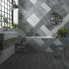 Image by Cyan Studios - British Ceramic Tiles - HD Concrete Bathroom