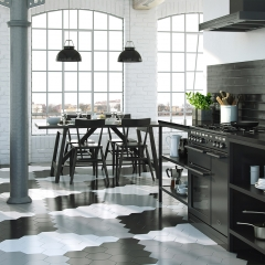 Image by Cyan Studios - British Ceramic Tiles - HD Rustic Kitchen