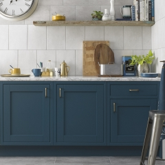 Image by Cyan Studios - British Ceramic Tiles - HD Gravity Turquoise Pebble Kitchen