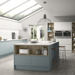 Image by Cyan Studios - Symphony - New York Blue Light Airy Island Kitchen