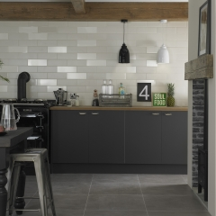 Image by Cyan Studios - Walls & Floor - Modern Cottage Grey Kitchen