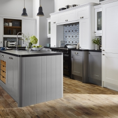 Image by Cyan Studios - Wren Kitchens - Stylish Grey White Island Kitchen