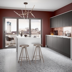Image by Cyan Studios - Symphony - Inline Plaza Cobble Grey Red Kitchen
