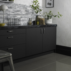 Image by Cyan Studios - Walls & Floor - Split Face Cambrian Grey Polished Kitchen