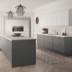 Image by Cyan Studios - Symphony  - Quadra Light Grey Kitchen