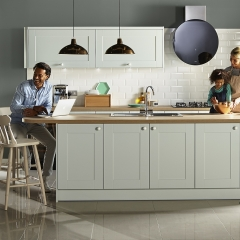 Image by Cyan Studios - Wren - Light Green Family Kitchen