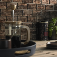 Image by Cyan Studios - Tile Giant - Wood Effect Glass Tiles