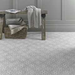 Image by Cyan Studios - Laura Ashley - Mr Jones Dove Grey Pattern Tile