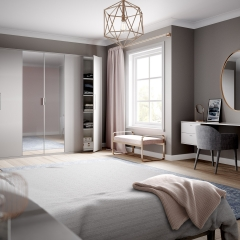 Image by Cyan Studios - Symphony - Lunar Pink Grey Bedroom