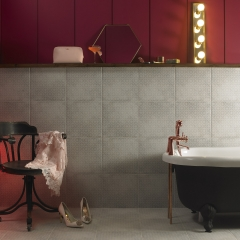 Image by Cyan Studios - Ted Baker - Geo Moody Red Bathroom Room Set