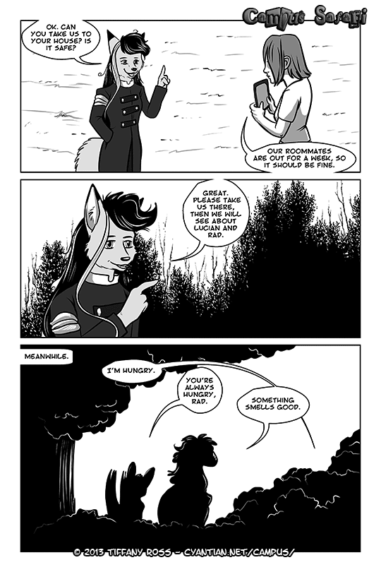 Campus Safari Chapter 4 Page 5