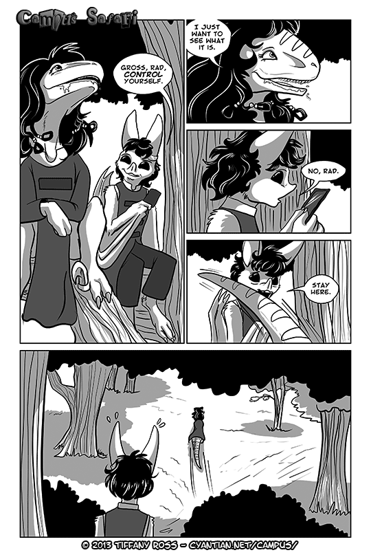 Campus Safari Chapter 4 Page 6