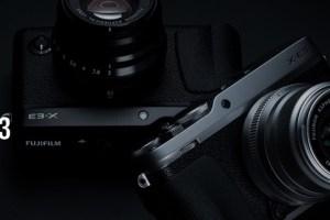 FUJIFILM X-E3購入