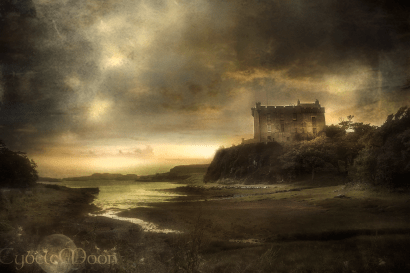 Dunvegan Castle and fine Scottish weather