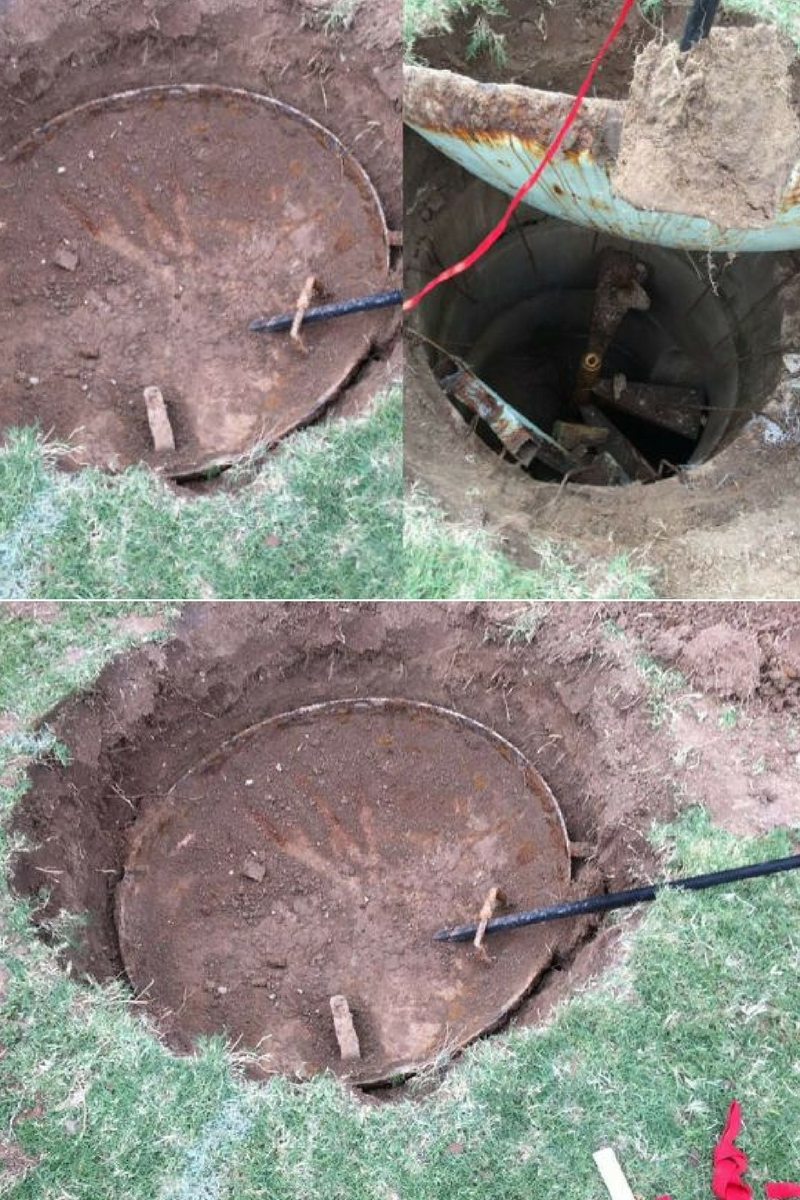 A Man Excavated His Backyard And Couldnt Believe What He