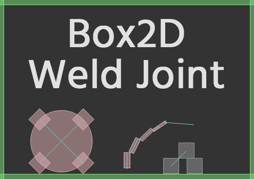 Box2D joints: Weld Joint