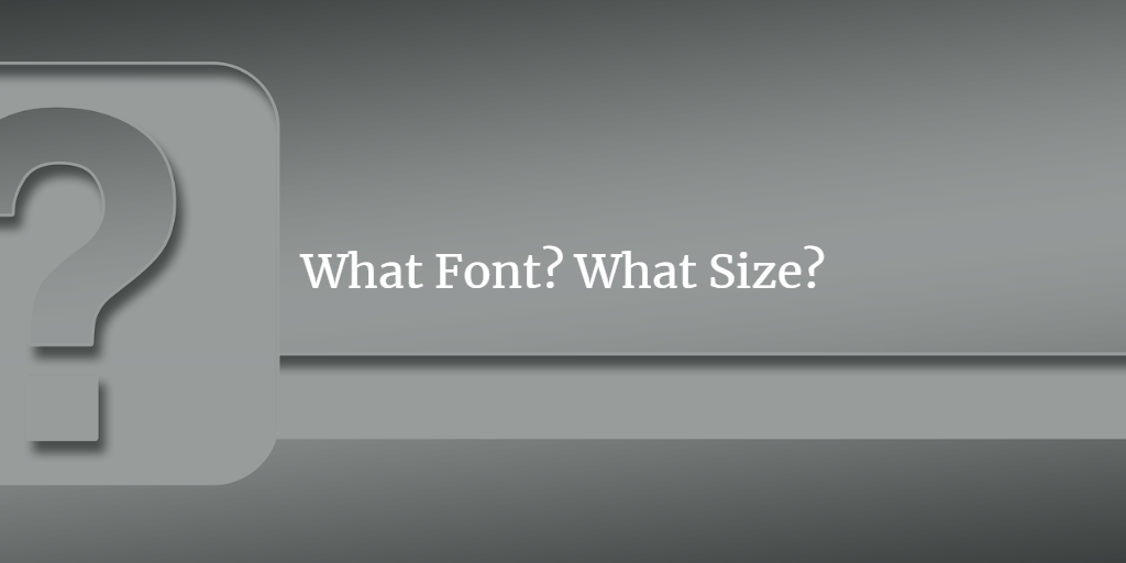 What Font