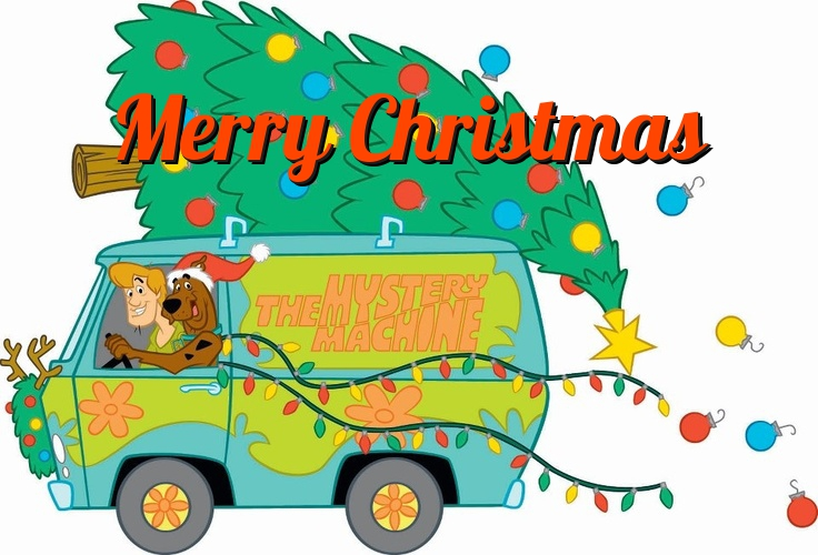 Free Scooby Doo Christmas Card