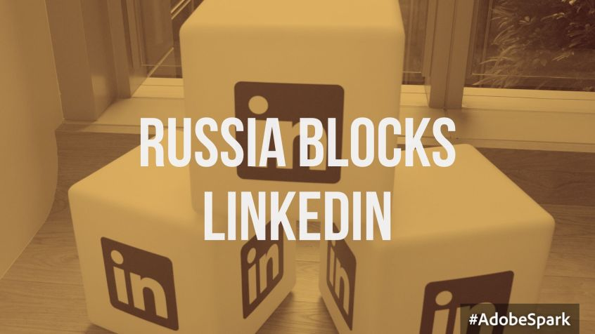 russia blocks linkedin